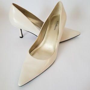 """Kelly & Katie leather heels, 7.5"""""""